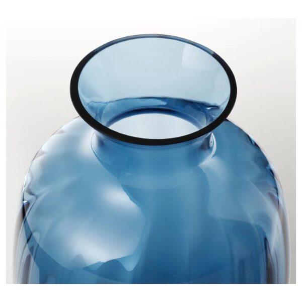 ТОНСЭТТА Ваза, синий 21 см - Артикул: 004.422.01