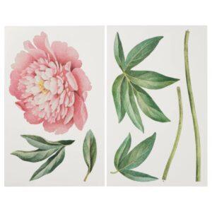 КИННАРЕД Декоративные наклейки, Розовый пион - Артикул: 604.468.28