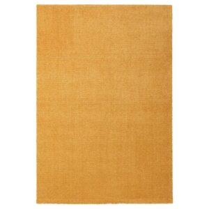ЛАНГСТЕД Ковер, короткий ворс, желтый 133x195 см - Артикул: 704.080.48