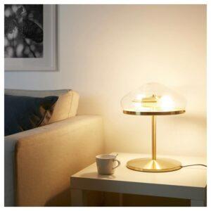 ОТЕРСКЕН Лампа настольная, прозрачное стекло - Артикул: 404.352.51