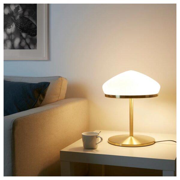 ОТЕРСКЕН Лампа настольная, молочный стекло - Артикул: 904.352.58