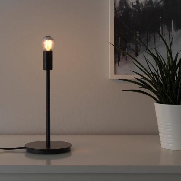 СКАФТЕТ Основание настольной лампы, черный 30 см - Артикул: 504.059.94