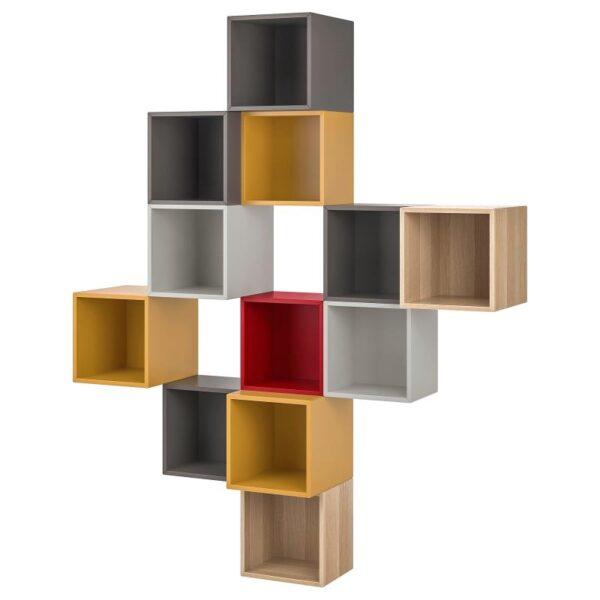 ЭКЕТ Комбинация настенных шкафов, разноцветный 1 175x35x210 см - Артикул: 092.863.81