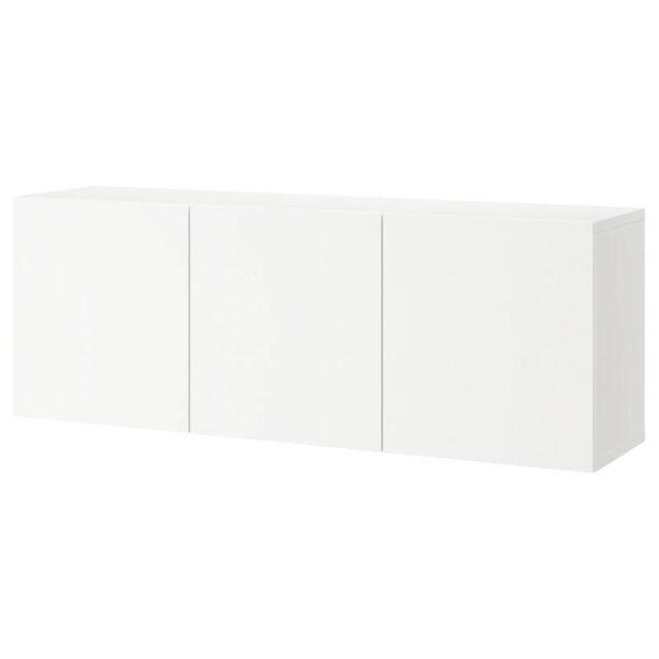 БЕСТО Комбинация настенных шкафов, белый/Лаппвикен белый 180x42x64 см - Артикул: 793.017.31