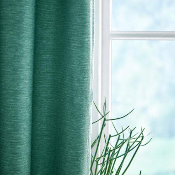 ВИЛБОРГ Гардины, 1 пара, зеленый 145x300 см - Артикул: 004.234.91
