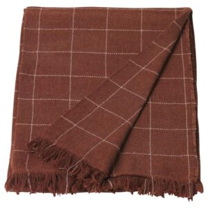 ВОРКРАГЕ Плед, красно-коричневый 110x170 см - Артикул: 204.278.41