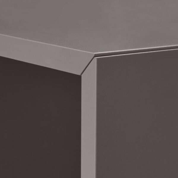 ЭКЕТ Комбинация настенных шкафов, темно-серый 175x35x70 см - Артикул: 692.863.97