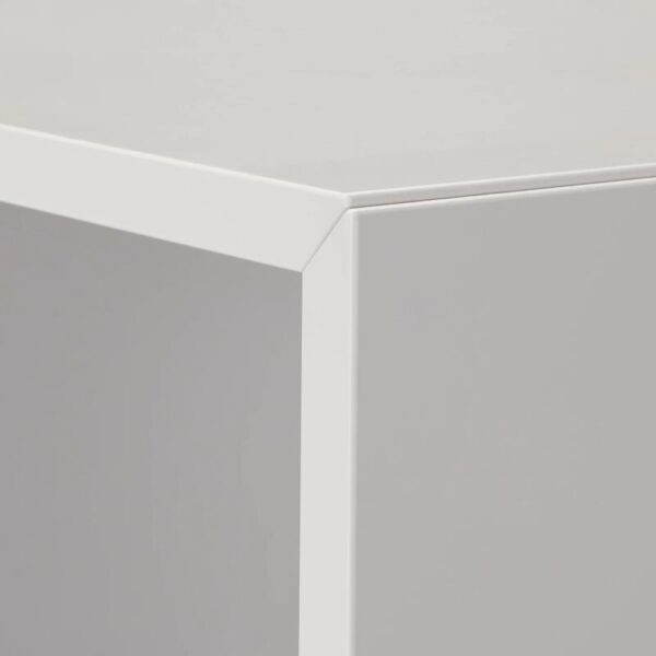 ЭКЕТ Комбинация настенных шкафов, белый/светло-серый/темно-серый 175x35x70 см - Артикул: 492.864.02
