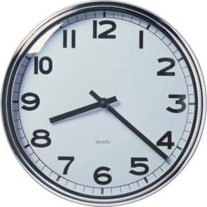 ПУГГ Настенные часы нержавеющ сталь - Артикул: 303.919.45