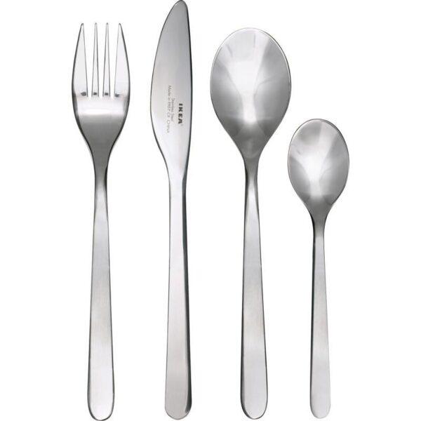 ФЁРНУФТ Столовый набор 24 предмета нержавеющ сталь - Артикул: 603.780.04