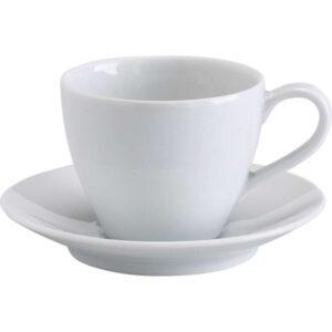 ВЭРДЕРА Чашка кофейная с блюдцем белый 20 сл - Артикул: 403.940.38