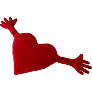ФАМНИГ ЙЭРТА Подушка белый красный 40x101 см - Артикул: 203.660.84