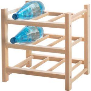 ХУТТЕН Подставка для 9 бутылок массив дерева - Артикул: 803.750.09