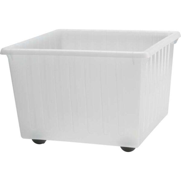 ВЕССЛА Ящик на колесах белый 39x39 см - Артикул: 403.660.40