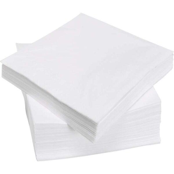 ФАНТАСТИСК Салфетка бумажная белый 40x40 см - Артикул: 503.795.94