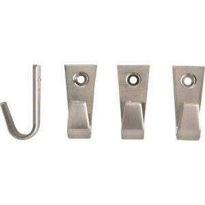 БЛЕККА Крючок никелированный 4 см - Артикул: 003.911.12