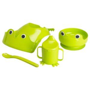 МАТА Набор посуды, 4 предм зеленый - Артикул: 403.647.29