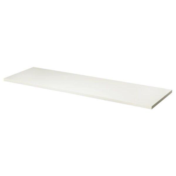 ЛИННМОН Столешница белый 200x60 см - Артикул: 803.849.33