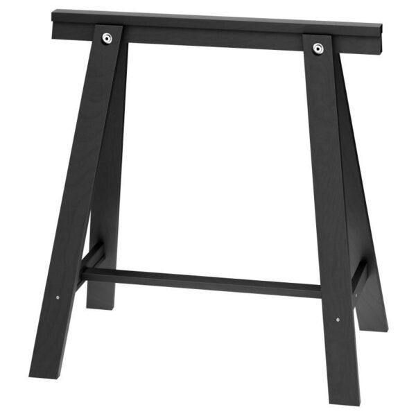 ОДВАЛЬД Опора для стола черный 70x70 см - Артикул: 603.849.34