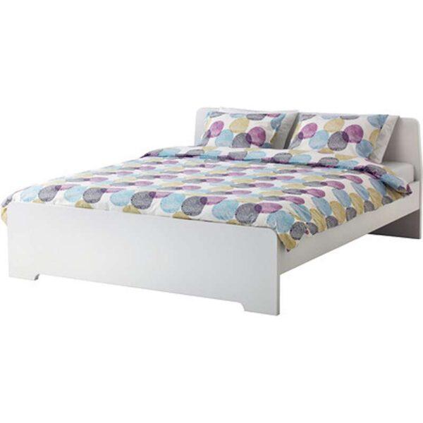 АСКВОЛЬ Каркас кровати, белый 160x200 см. Артикул: 392.107.14