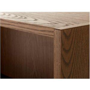 БИЛЛИ Полка навесная коричневый ясеневый шпон 120x35 см - Артикул: 503.688.97