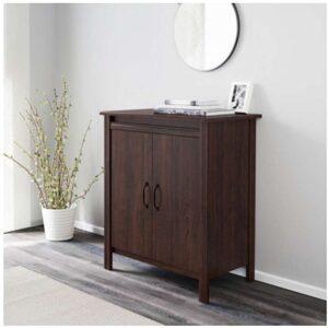 БРУСАЛИ Шкаф с дверями коричневый 80x93 см - Артикул: 403.796.17