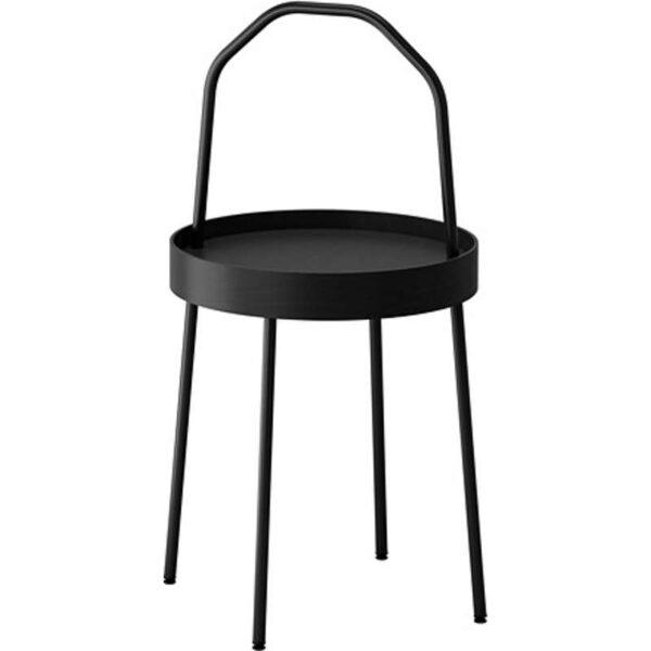 БУРВИК Придиванный столик черный 38 см - Артикул: 703.555.25