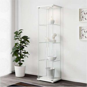 ДЕТОЛЬФ Шкаф-витрина белый 43x163 см - Артикул: 303.833.61