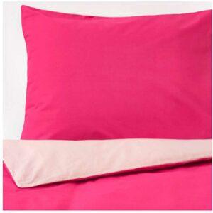 ДВАЛА Пододеяльник и 2 наволочки, розовый 200x200/50x70 см. Артикул: 203.774.88