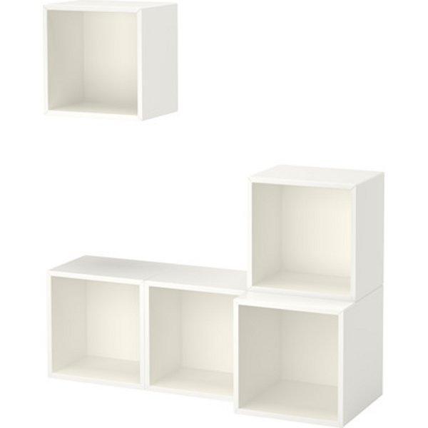 ЭКЕТ Комбинация настенных шкафов белый 105x35x120 см - Артикул: 691.888.44