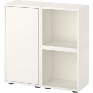 ЭКЕТ Комбинация шкафов с ножками белый 70x25x72 см - Артикул: 691.891.98