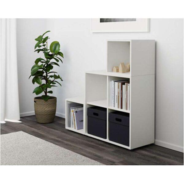 ЭКЕТ Комбинация шкафов с ножками белый 105x35x107 см - Артикул: 691.892.02