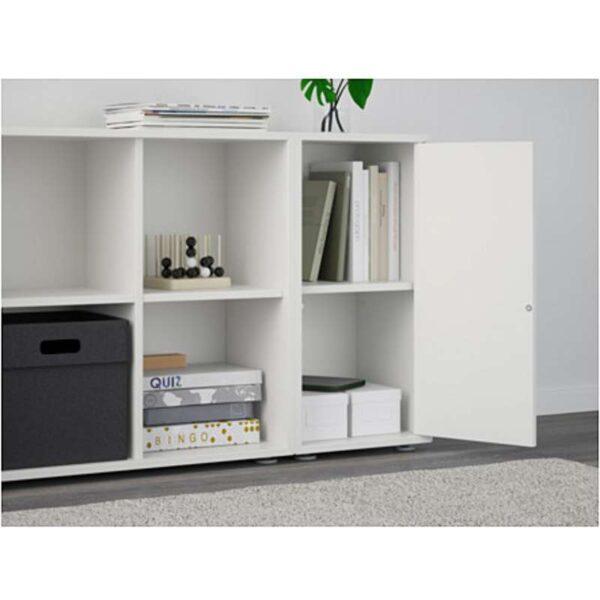 ЭКЕТ Комбинация шкафов с ножками белый 105x35x72 см - Артикул: 991.892.05