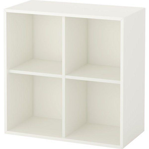 ЭКЕТ Шкаф с 4 отделениями белый 70x35x70 см - Артикул: 503.593.60
