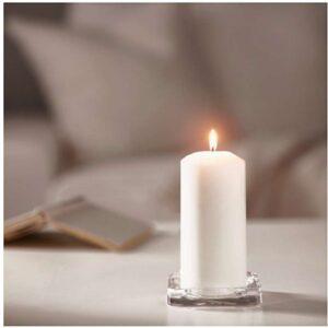 ФЕНОМЕН Неароматич свеча формовая естественный 15 см - Артикул: 103.716.65