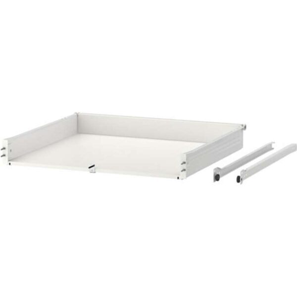 ФОРВАРА Ящик низкий белый 60x60 см - Артикул: 103.580.65