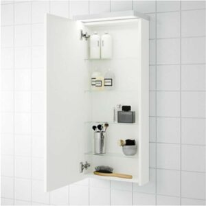 ГОДМОРГОН Навесной шкаф с 1 дверцей белый 40x14x96 см - Артикул: 503.803.09