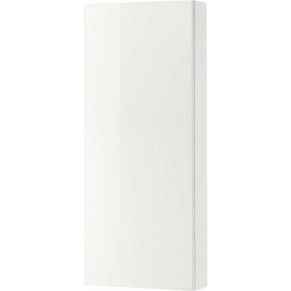 ГОДМОРГОН Навесной шкаф с 1 дверцей глянцевый белый 40x14x96 см - Артикул: 903.803.07