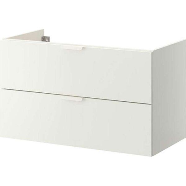 ГОДМОРГОН Шкаф для раковины с 2 ящ белый 100x47x58 см - Артикул: 703.495.77