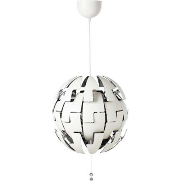 ИКЕА ПС 2014 Подвесной светильник белый/серебристый - Артикул: 803.609.13
