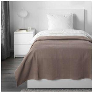 ИНДИРА Покрывало светло-коричневый 150x250 см - Артикул: 303.890.80