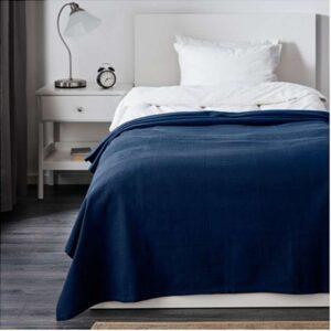 ИНДИРА Покрывало темно-синий 150x250 см - Артикул: 603.702.39