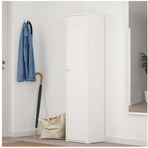 ИВАР Шкаф с дверью белый 40x160 см - Артикул: 003.855.02