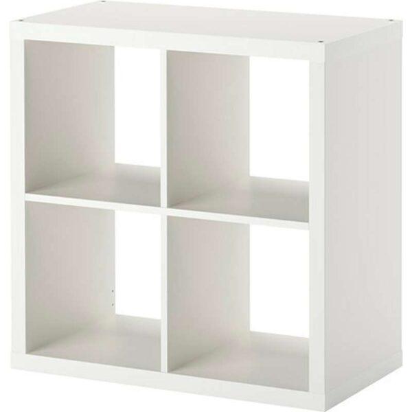 КАЛЛАКС Стеллаж белый 77x77 см - Артикул: 203.795.81