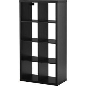 КАЛЛАКС Стеллаж черно-коричневый 77x147 см - Артикул: 703.795.74