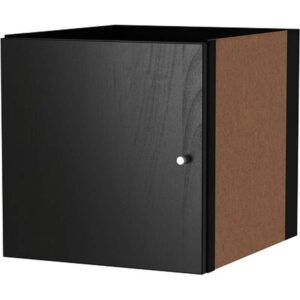 КАЛЛАКС Вставка с дверцей черно-коричневый 33x33 см - Артикул: 103.795.48