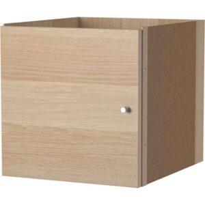 КАЛЛАКС Вставка с дверцей под беленый дуб 33x33 см - Артикул: 503.795.51