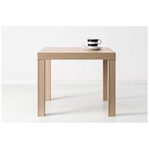 ЛАКК Придиванный столик под беленый дуб 55x55 см - Артикул: 103.364.55