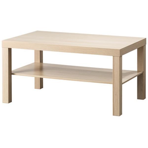 ЛАКК Журнальный стол под беленый дуб 90x55 см - Артикул: 903.364.56