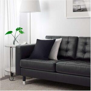ЛАНДСКРУНА 3-местный диван-кровать, Гранн Бумстад черный металл. Артикул: 792.489.08